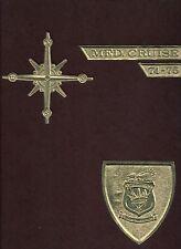 USS SARATOGA CV-60 MEDITERRANEAN DEPLOYMENT CRUISE BOOK YEAR LOG 1974-75 - NAVY