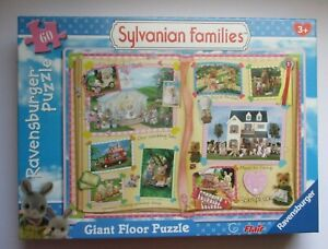 RAVENSBURGER SYLVANIAN FAMILIES GIANT FLOOR PUZZLE 20TH ANNIVERSARY NEW SEALED