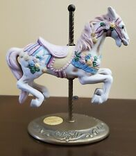 Vintage Carousel Horse Willitts Design Collectible Carousel Figurine Animal