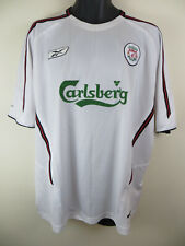 Reebok 2003-05 Harry KEWELL #7 Liverpool Football Shirt Away Retro Mens XL