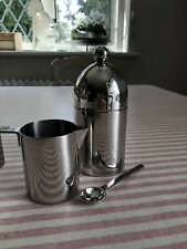 Alessi Aldo Rossi Creamer and Sugar Bowl Set 90023 & 90024