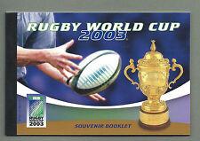 Australia 2003 Souvenir FOLLETO de prestigio-Copa Mundial de rugby-Completo-estampillada sin montar o nunca montada