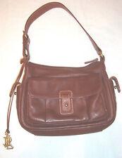 Ralph Lauren Vintage All Leather Small Handbag Purse Shopper