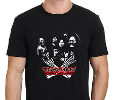 MAXIMUM THE HORMONE Men's Black T-Shirt Size: XS-S-M-L-XL-XXL
