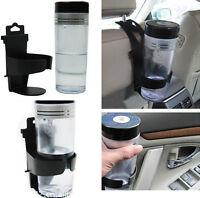 Black Universal Vehicle Car Truck Door Mount Drink Bottle Cup Holder Stand ONE S