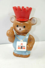 "GDR Berliner Bear "" 750 Years Berlin "" Gummifigur With Original Package (K87)"