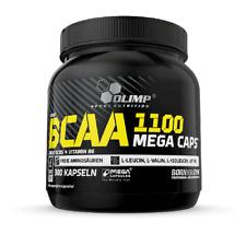 69,74?/kg Olimp BCAA 1100 Mega Caps Aminosäuren Fitness Training 300 Kapseln
