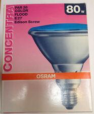 Osram Par80flb12 concentra Par38 Inundación azul 80w 240V E27 30°