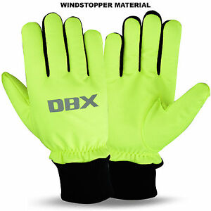 Cycling Winter Gloves Windproof Windstoper Thermal MTB Bike Glove DBX M to XL