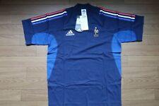 SALE France 100% Original Soccer Football Tee Shirt 2002 S Still BNWT NEW [1758]