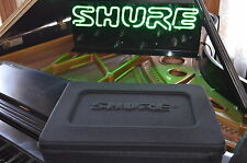 Shure Genuine Wireless System New Style Case, Custom Fit to your system.