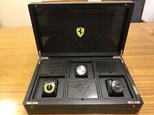 Scuderia Ferrari Watch set in display case RARE !!