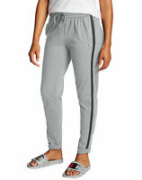 Champion Joggers Women Heathered Jersey Slim-fit Drawstring Pockets Tri-Blend