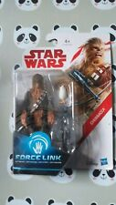 STAR WARS FORCE LINK ACTION FIGURE CHEWBACCA