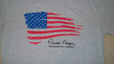 Official Seal PRESIDENT RONALD REAGAN Library T-Shirt MED Printed Signature