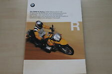 167780) BMW R 850 GS 1150 GS 850 C 1200 C Prospekt 08/1999