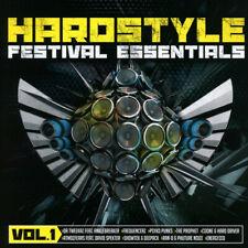 FESTIVAL ESSENTIALS = Prophet/Coone/Showtek/Blasco/JNXD/Rude...=2CD= HARDSTYLE!!