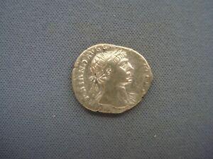 Cir 98-117 AD - Roman Empire - Trajan - Aequitas - Denarius - Silver - 3014