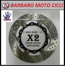 COPPIA DISCO FRENO ANTERIORE YAMAHA TMAX T-MAX T MAX 500 2010  225162350