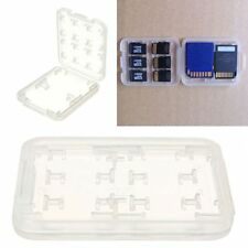 New 8 Slots Micro SD TF SDHC MSPD Memory Card Case Holder Protecter Box Storage