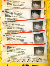New listing 5X 3M 9211/37022 Respirators - Shipping from Usa