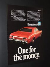 Vintage 1973 Plymouth Duster 340 print ad **FREE SHIPPING**