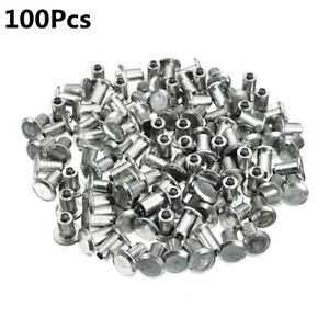 100PCS Winter Car Tires Studs Screw Snow Spikes Wheel Tyre Snow Chains Studs Kit