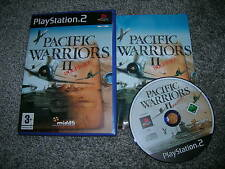 PACIFIC WARRIORS II : DOGFIGHT - Rare Sony PS2 Game