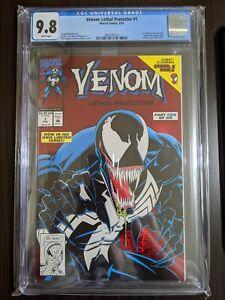 Venom Lethal Protector 1 CGC 9.8, NM, Mark Bagley, Red Foil, Black, Gold