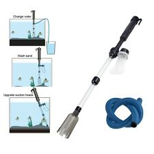 Aquarium Fish Tank Battery-Powered Gravel Cleaner Siphon Vacuum Water Change