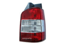 VW Transporter T5 Rear Back Tail Light Lens Lamp 2003 – 2010 Right O/S Red Clear