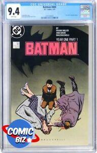 BATMAN #404 (1987) 1ST PRINTING DC MODERN AGE YEAR ONE PART 1 CGC NM 9.4