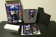 RoboCop 2  (NES, 1991) *Tested/With manual, box, and sleeve