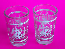 Hua Tuo (Ancient Chinese Physician) Shot Glasses ~ 2 x 62 mm tall ~ Novelty