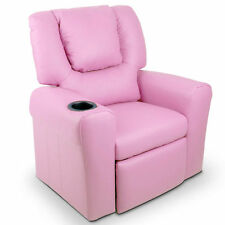 Luxury Kids Recliner Sofa - Pink