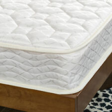 "Slumber 1 6"" Comfort Bunk Bed Spring Mattress Full Size Comfortable Quilt Top"