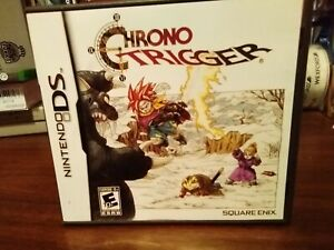 Chrono Trigger (DS, 2008) game case and booklet ONLY