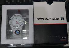 ice Watch weiss BMW Motorsport -100m/10atm BM.SI.WE.U.S.13 -unbenutzt in OVP-3ee