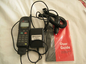 SPRINT PCS  Dual Band Phone-QCP-2700-QUALCOMM WITH ACCESSORIES-USED