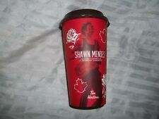 48 Tim Hortons Shawn Mendes Stadium Show 9.6.19 White Paper Cups Sleeves