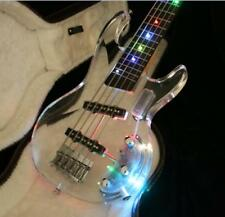 2018 NEW Product 5 Strings Electric Bass With Colorful LED Light Acrylic Body