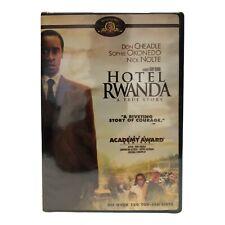 Hotel Rwanda Widescreen Edition Dvd Don Cheadale New Sealed