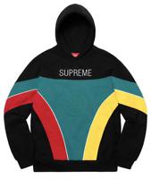 Supreme Milan Hoodie Sweatshirt Sz Medium Black Brand New **Confirmed Order**