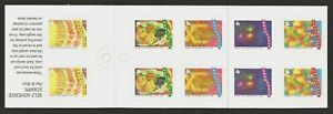 SINGAPORE 1994 GREETINGS FLOWERS BOOKLET MNH
