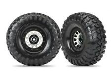 TRAXXAS Tires and wheels, assembled (Method 105 black chrome, Canyon (TRX8172)