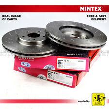 MERCEDES-BENZ C-CLASS W203 CLK SLK R171  MINTEX FRONT DISC BRAKES MDC2301 PAIR