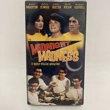 MIDNIGHT MADNESS (1980) VHS Factory Sealed IGS Michael J. Fox Anchor Bay