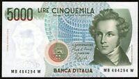 Repubblica Italiana - 5000 / 5.000 Lire Bellini 1988  FDS / UNC