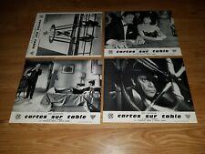 Lot: 16 photos d'exploitation de cinéma du film: CARTES SUR TABLE de 1966