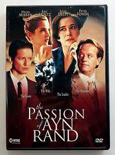 The Passion of Ayn Rand (DVD, 2001) Helen Mirren Peter Fonda